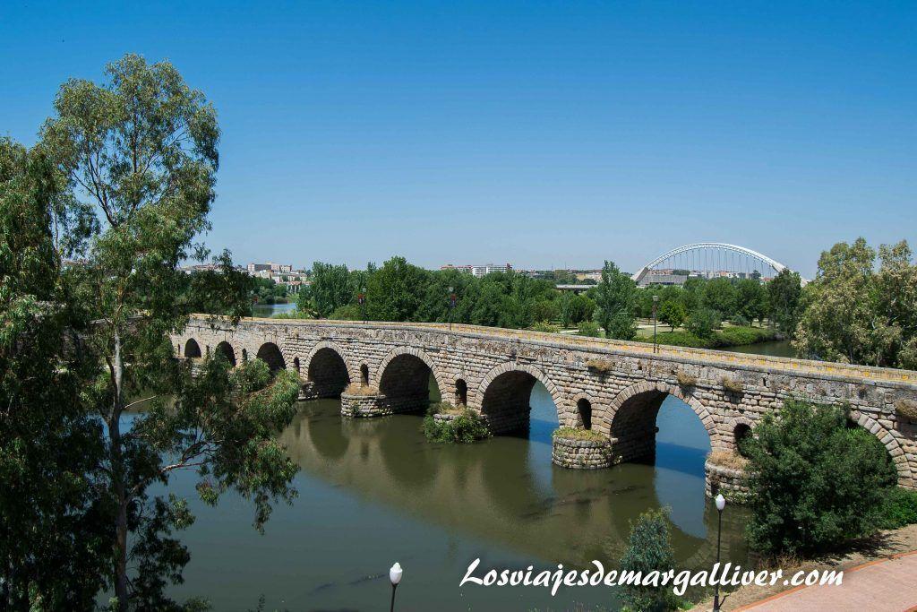 Puente romano de Mérida - Los viajes de Margalliver
